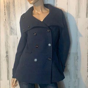Size 10  - H&M Navy Fleece Jacket